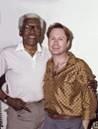 Bayard Rustin, left, with partner Walter Neagle.