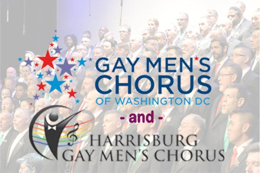 The Harrisburg Gay Men's Chorus and the Gay Men's Chorus of Washington DC will unite to make a difference in the Susquehanna Valley. The free concert begins at 7:30 p.m. The concert will be held St. Peter's Lutheran Church, 121 N. Spring St., Middletown , PA. The combined chorus will encompass more than 150 voices rising in song to honor diversity and proclaim acceptance for all.