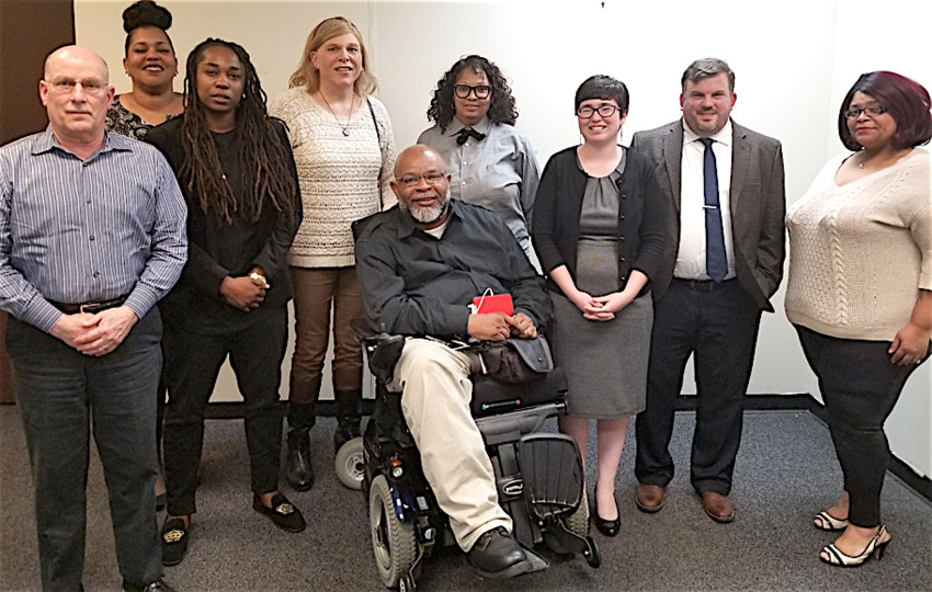 Recently appointed Harrisburg Human Relations Commission members are pictured, from left, Chairperson Russ Boggs, Kia Hansard, Amanda Carter, Gretchen Little, Vice Chairperson Theo Brady, Valarie Carelock, Amanda Arbour, Joshua Grubbs and Christi'an Yellowdy.