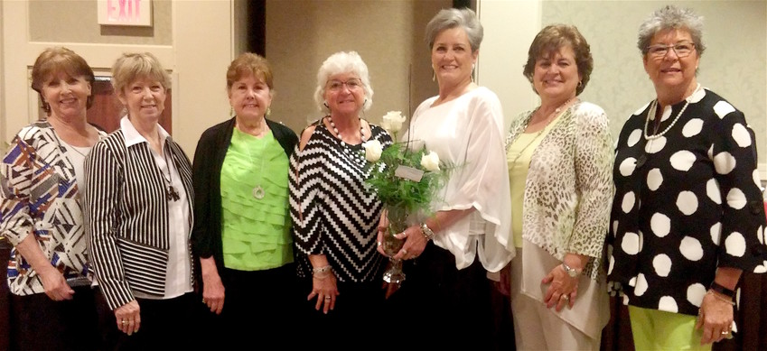 Over 400 attended the April 21 meeting of the Lenker Manor Paxtang Women's Club. During the annual luncheon it was reported the local club raised over $10,000 that is used to support local non-profit groups in the area. Luncheon committee members pictured from left are Tina Wood, Annie Verobish, Linda Flowers, Bonnie Snodgrass, Lynn Kipp, Sally Zedonis and Jane Rising.
