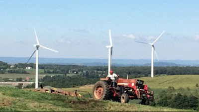 Somerset Co. windmill farm near Pittsburgh