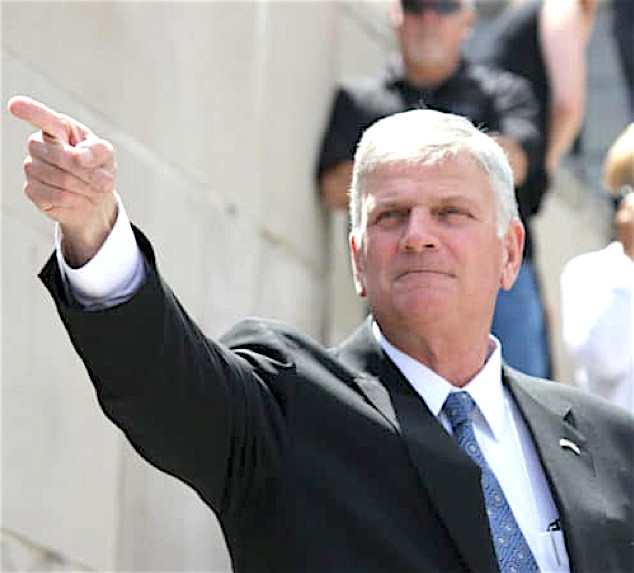 Rev. Franklin Graham, son of Rev. Billy Graham.