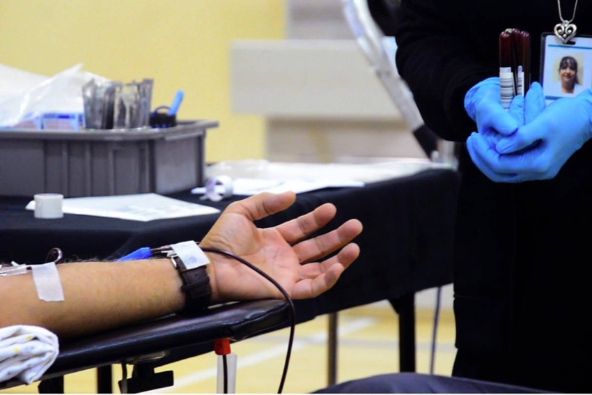 Sexually active gay men are banned from donating blood in Canada.