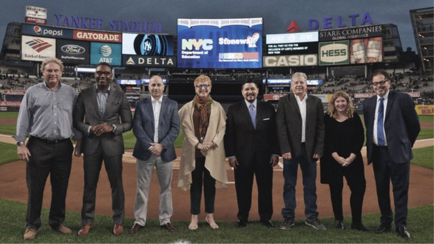 The Yankees-Stonewall Initiative, which will provide $50,000  through five $10,000 college scholarships to be presented to one student from each of the five boroughs.