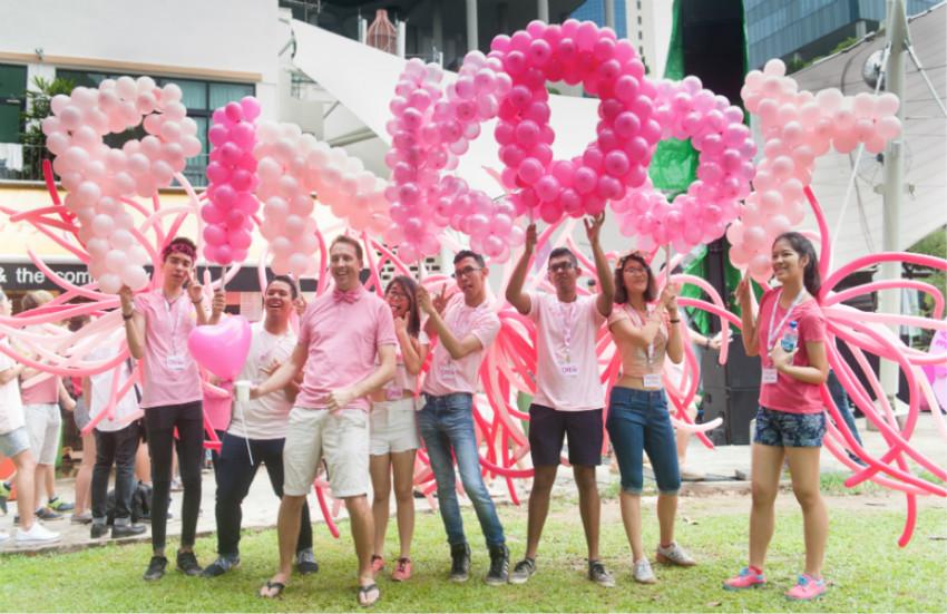 Pinkdo participates in recent LGBTQ event in Singapore