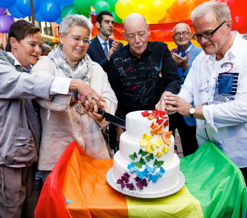Thousands of gay and lesbian couples were married in Germany in the past year, after decades of waiting. More than 10,000 same-sex couples have tied the knot since the change in the law last October.
