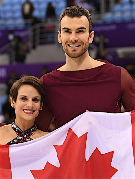 Eric Redford and Meagan Duhamel of Canada won a gold and bronze medal at the 2018 Olympics. Redford has been named Outsports Male Athlete of the year.