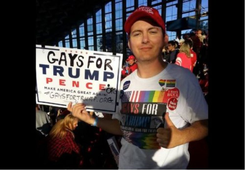 Gay for Trump's Peter Boykin - Facebook