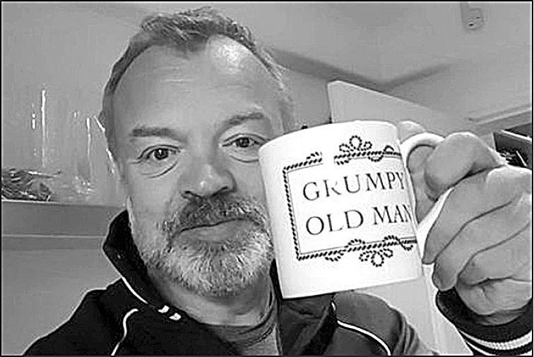 British TV host Graham Norton says he's given up on the idea of a long-term partner