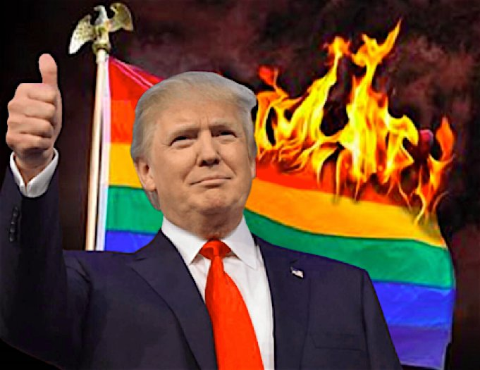 """The White House reported said President Trump opposes the Equality Act because LGBTQ civil rights would conflict with """"conscience and parental rights."""""""