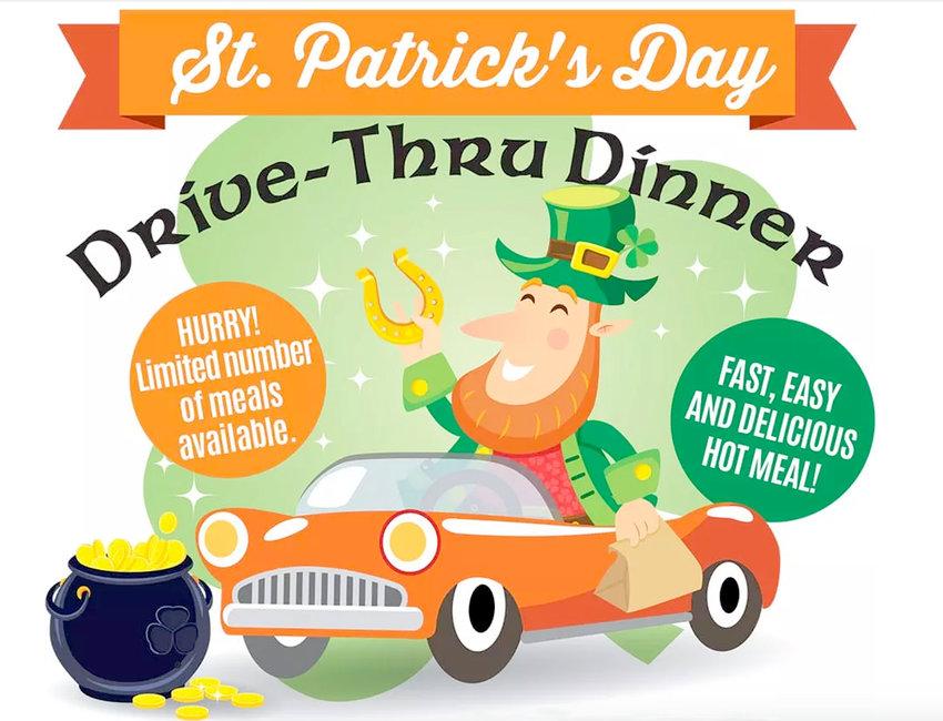St. Patrick's Day Drive-thru Dinner
