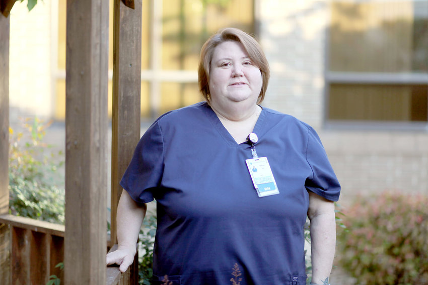 """TERESA CAGLE found her purpose at Missouri State University-West Plains and is now a registered nurse at Ozarks Healthcare in West Plains. """"My experience at Missouri State-West Plains can be summed up in one word, and that is accomplishment."""""""