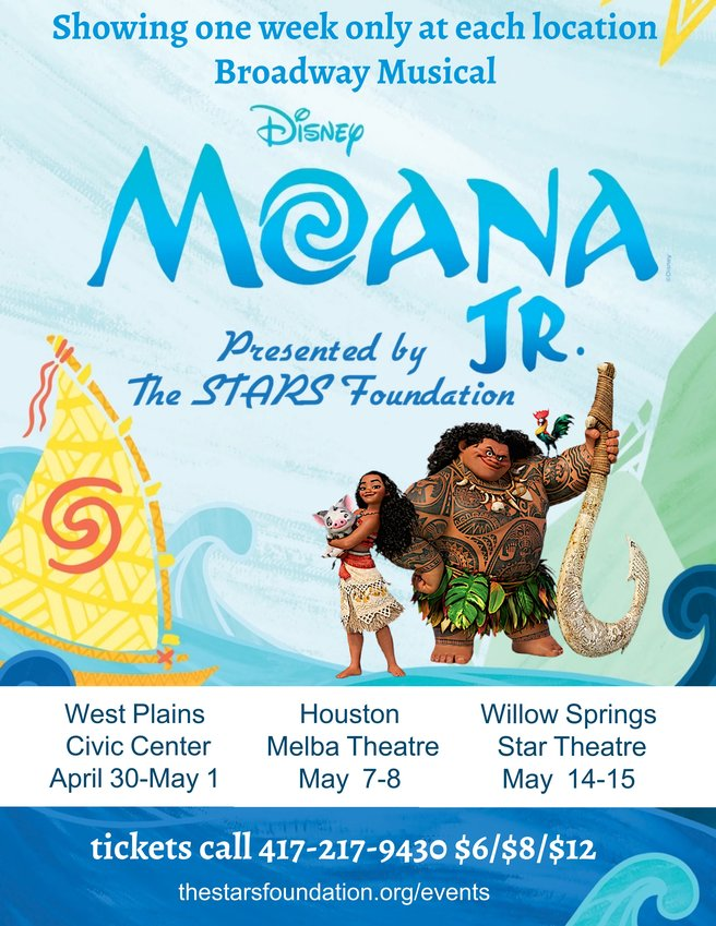 Moana Jr., presented by the STARS Foundation