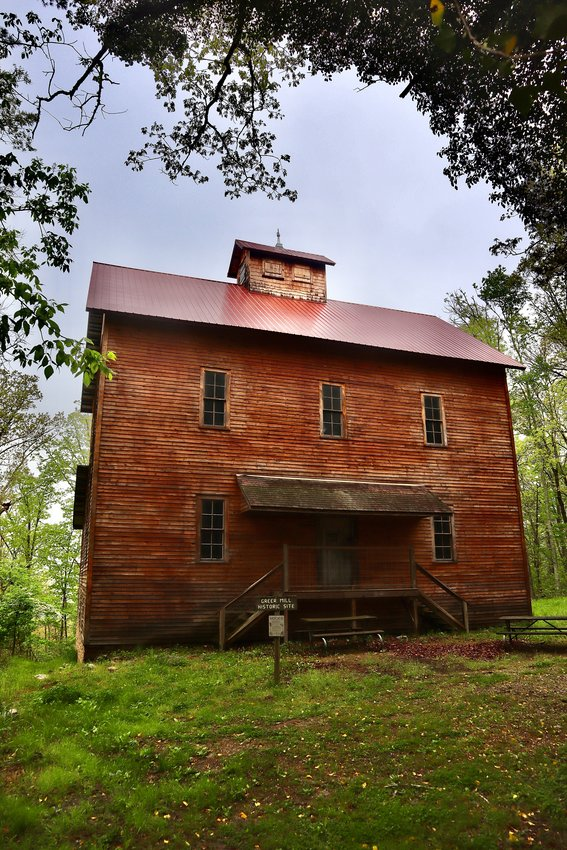 GREER SPRING MILL, built in 1899 has undergone an eight-year restoration project.