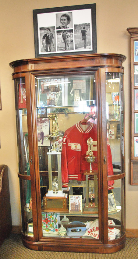 Long named the Brent Bruehl Memorial Golf Course, now the pro shop has a memorial to the courageous champion golfer that highlights his high school career.