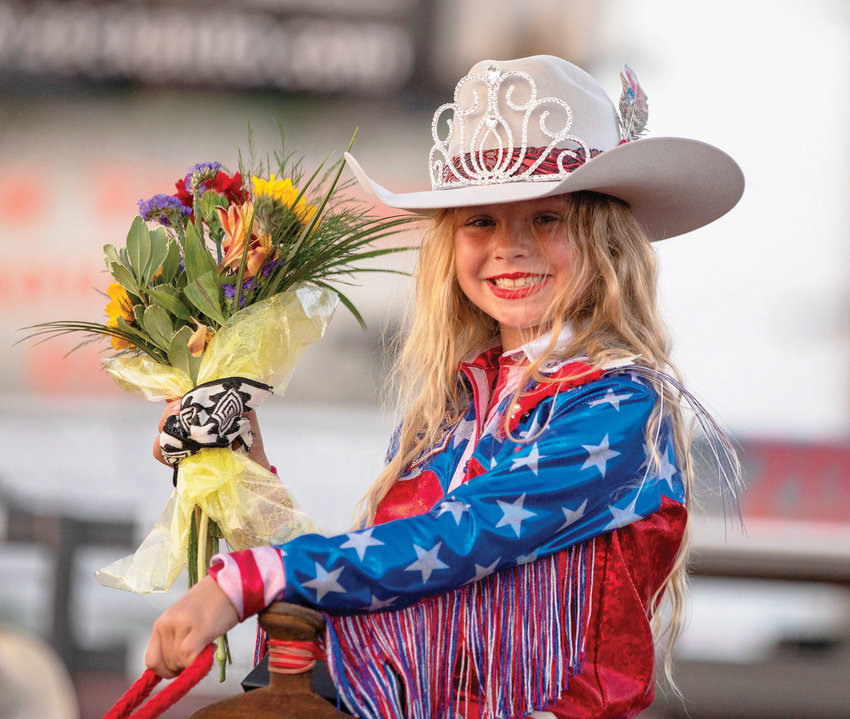 Graci Pollard was the 2021 ITRC Rodeo Princess & Royalty Champion at the Purcell IPRA Rodeo presented by the Indian Territory Round-Up Club over the weekend.