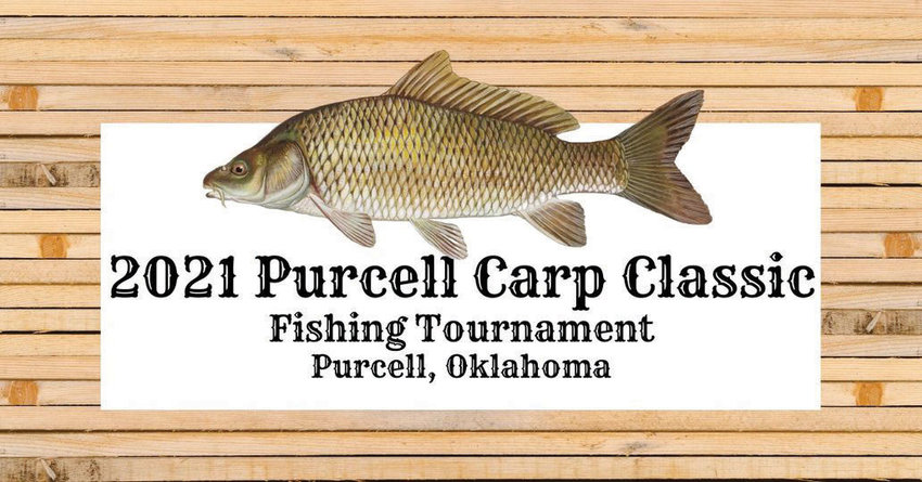 This is a carp, the target of an August 7 fishing tournament at Purcell Lake.