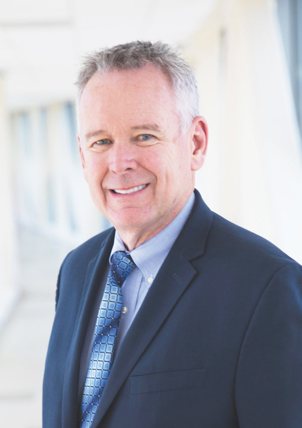Chris Wright is the new chief executive officer hired to head Purcell Municipal Hospital.