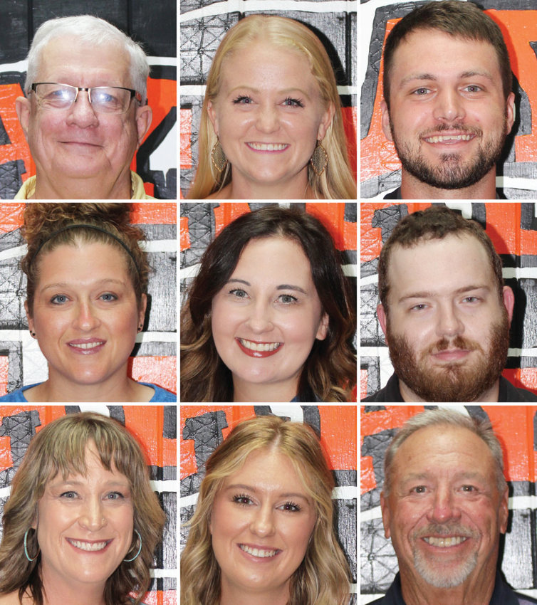 Billy Burnett, Alayna Denison, Jackson Embry, Kayla Madden, Courtney Lyles, Chris Ridgway, Angela Russell, Lyndze Shofner, Rick Thomas