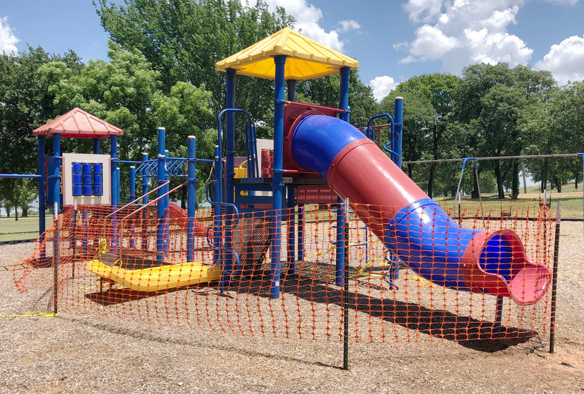 Rotary Playground equipment at Purcell Lake would be upgraded and replaced under a grant proposal being considered by the city's Parks & Recreation Department. A public hearing to discuss the issue is planned for 6 p.m. September 9 at the Purcell Multipurpose Center.