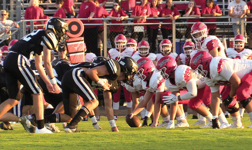 Purcell opened their season Friday night with a Week 0 game at Lone Grove. The Dragons were defeated 41-7.
