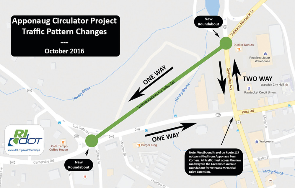 COMING SOON: Changes in the Apponaug Circulator as defined by the DOT.