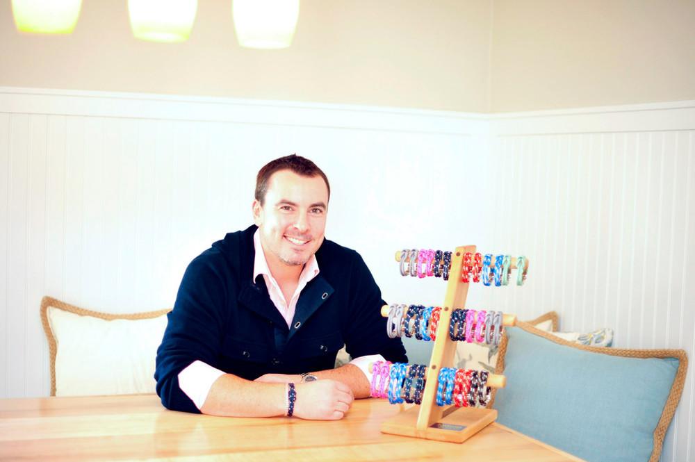 David Norton owns Lemon & Line, which produces nautical bracelets
