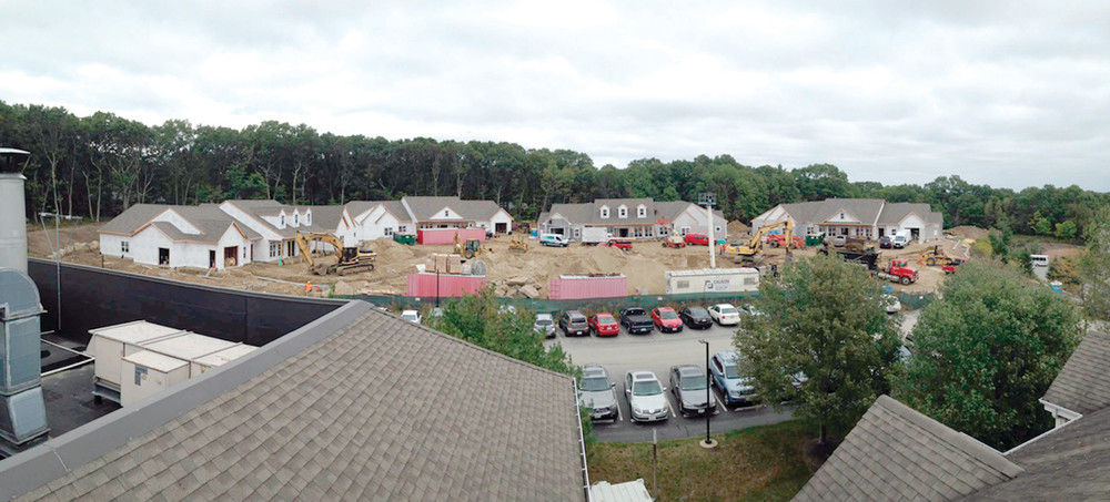 ON THEIR WAY TO COMPLETION: THE GREEN HOUSE® Home, a new concept in nursing home care is expected to be completed in time to open after the first of the New Year.