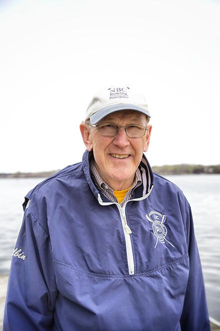 Albin Moser, director of rowing programs at the Narragansett Boat Club