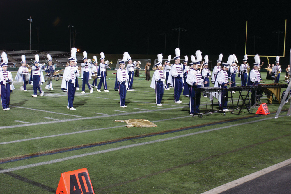 """WESTERLY: Pictured is the Westerly High School Band, which took first place in the IV 4A Division for their performance, """"The Lord of the Rings."""""""