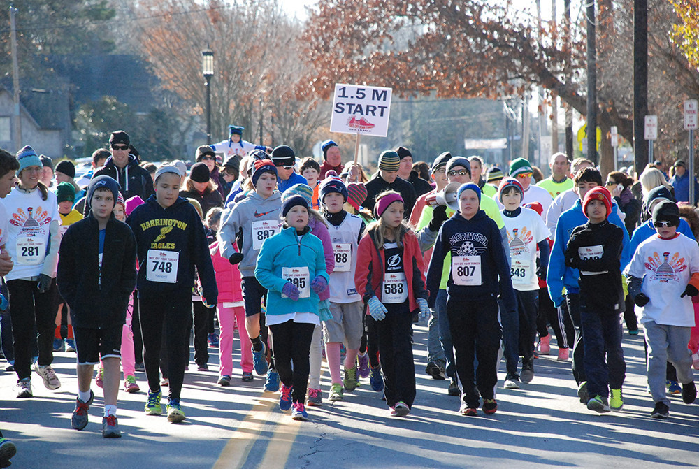 The Turkey Trot: Your ticket to eating more than you should on Thanksgiving.