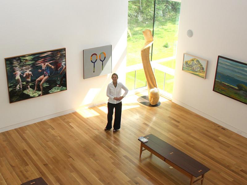 Deedee Shattuck Gallery in Westport