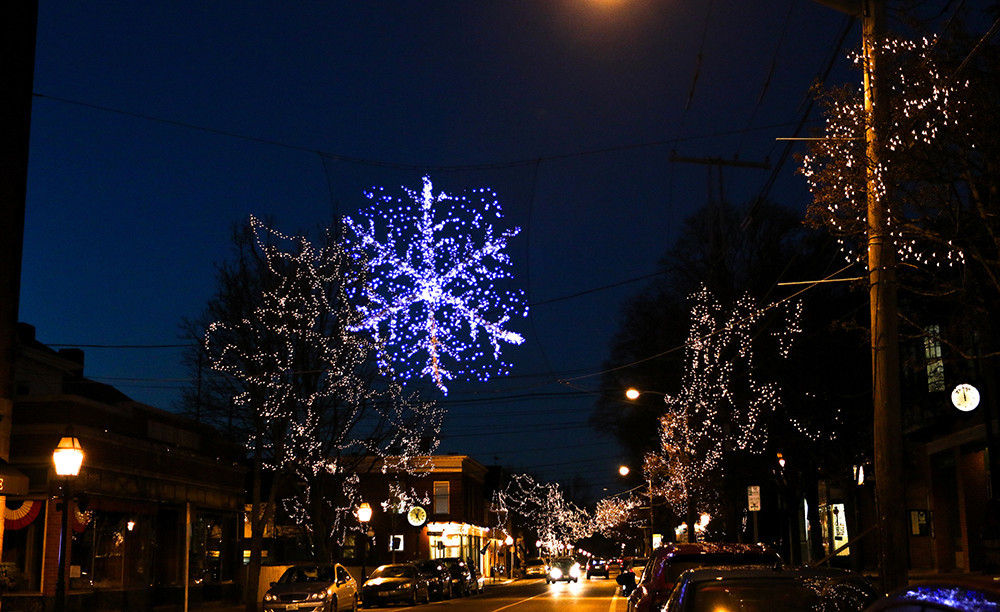 Bristol's Grand Illumination on December 3-4 has holiday festivities and chances to enter the town's annual snowflake raffle