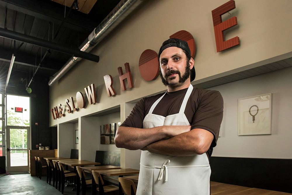 Chef Paul Harrington of The Slow Rhode