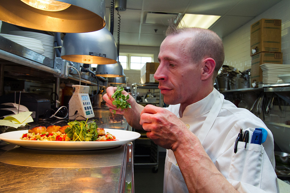 Chef James Weare of The Aviary