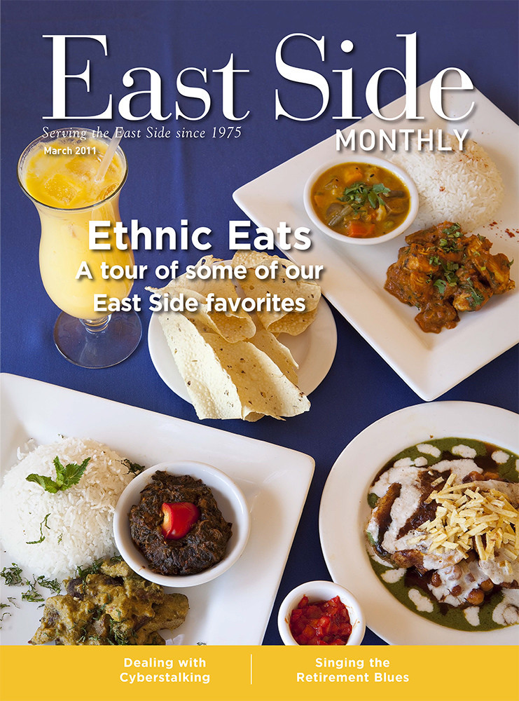 Our April 2011 East Side Dining cover