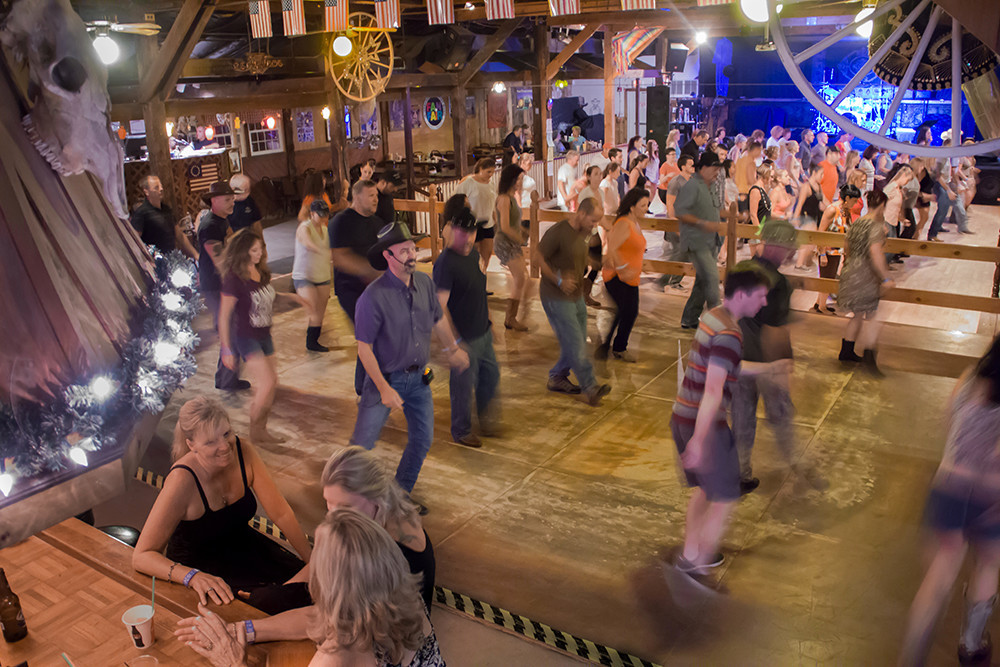 Line dance the night away at Mishnock Barn in West Greenwich