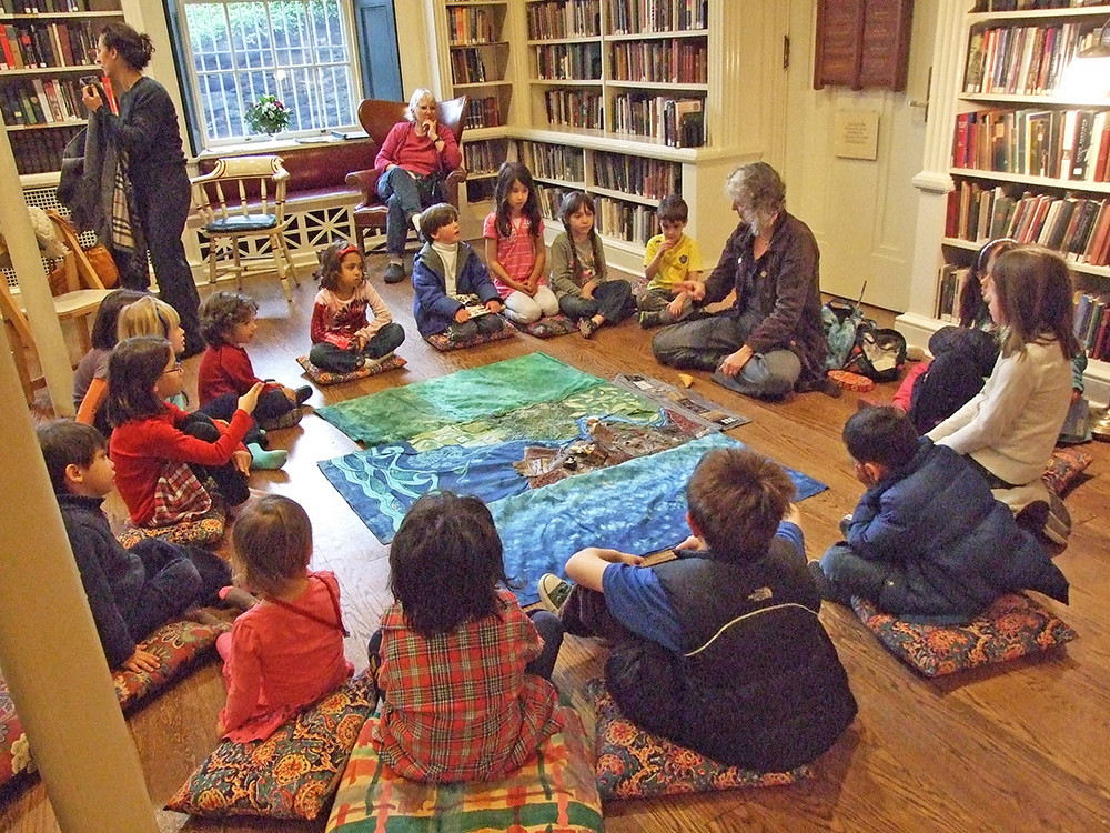 The Children's Library at the Providence Athenaeum is an adventure any day of the week