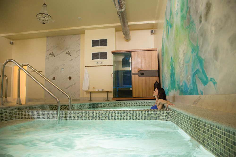 Relax at the Bodhi Spa in Newport