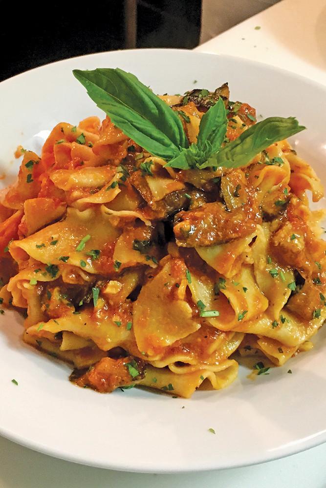 Vino Veritas on Broadway combines European and American culinary sensibilities