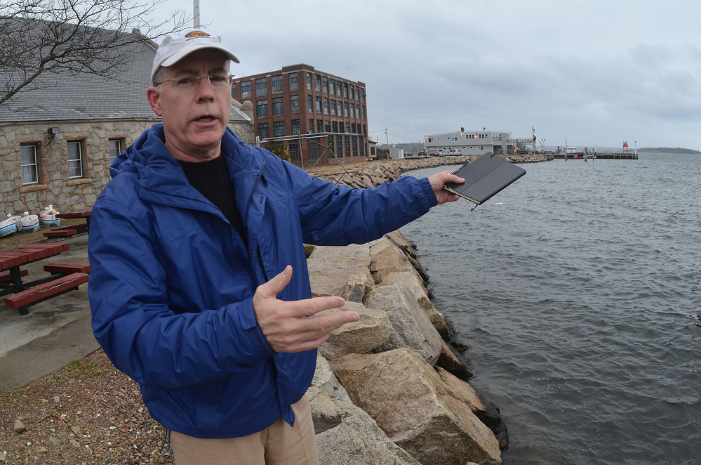 Patrick McCarthy, representing a group of Bristolians on the waiting list for a public boat slip, said it's unacceptable that the town is delaying plans for a public marina for at least a year.