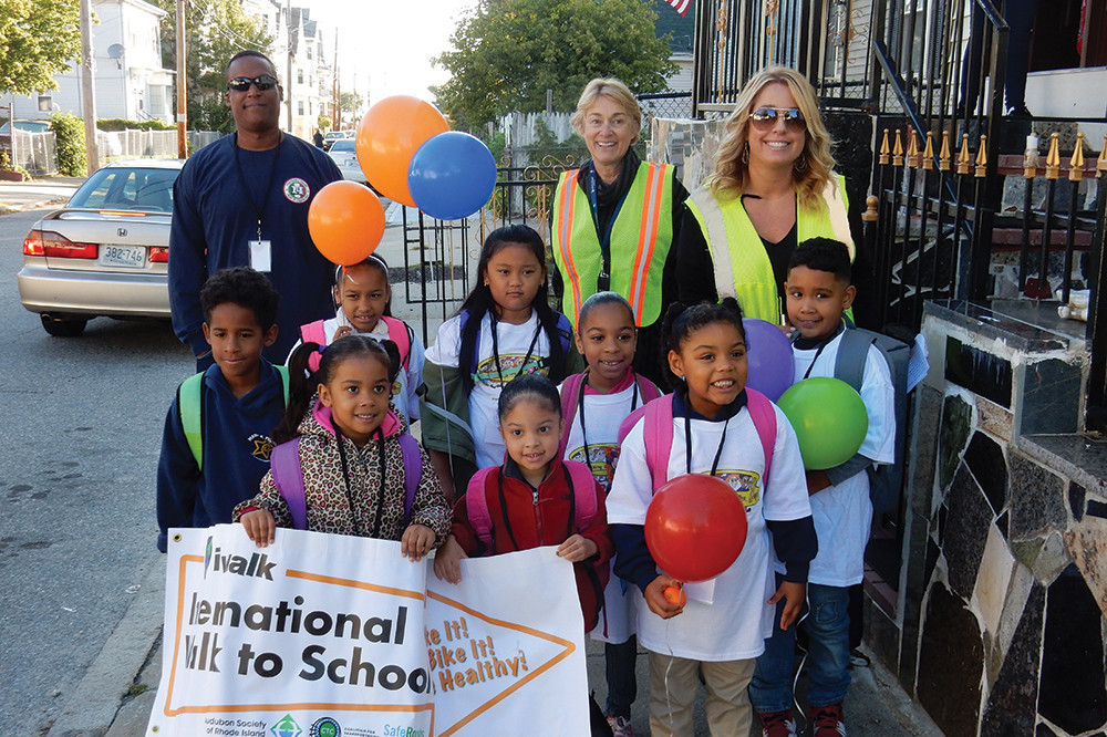 FSRI has long offered services, such as their Walking School Bus program, for Rhode Island's children and families in need through partnerships with community organizations, local businesses and institutions