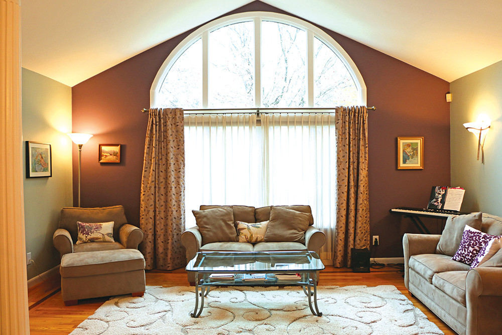 A top-to-bottom redesign turned this  throwback in Barrington into a thoroughly modern home