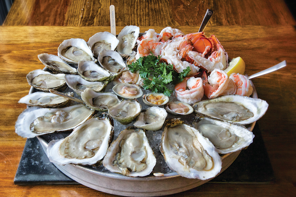 Eat fresh from sea at Bristol Oyster Bar