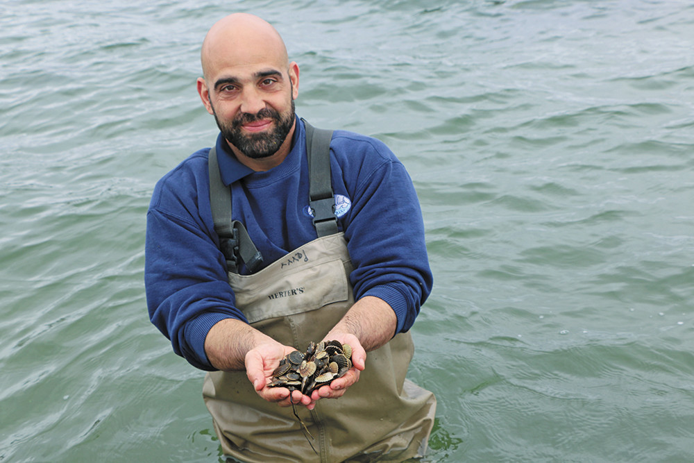Perry Raso of Matunuck Oyster Bar