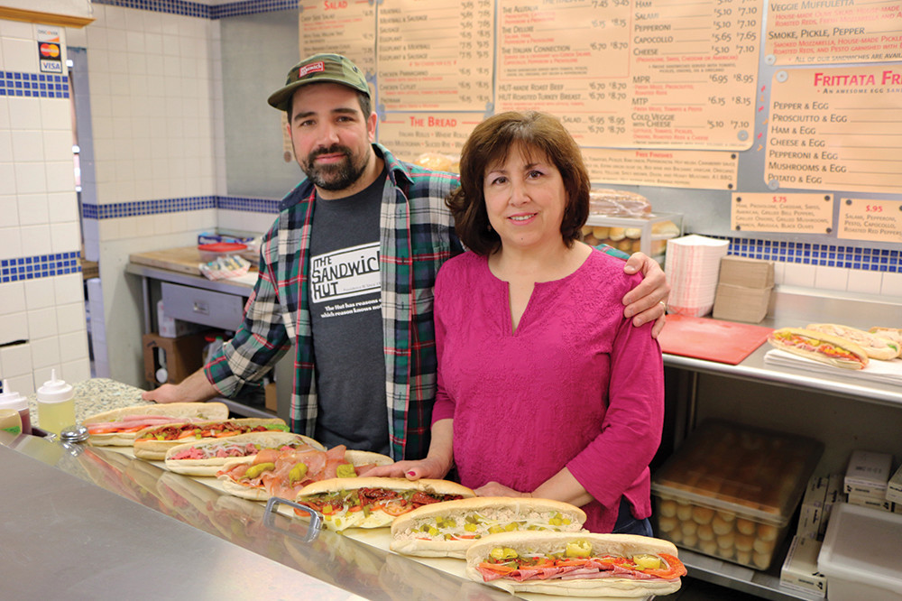 Peter Kammerer and his mother, Denise, are continuing their family's legacy at The Sandwich Hut