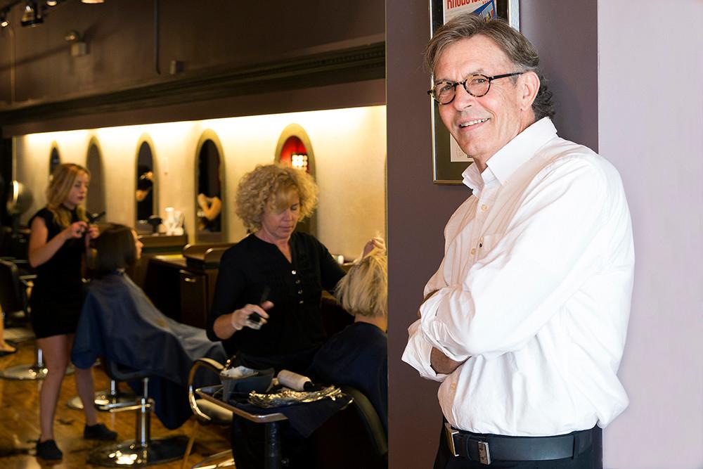 Salon Director Kenneth Cote