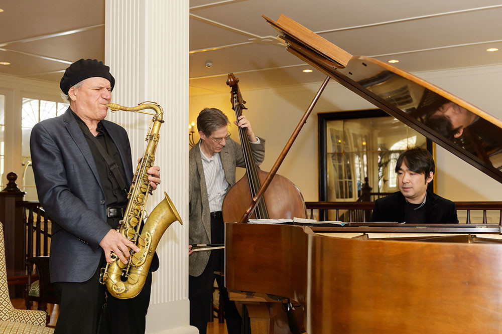Live music – like jazz during Ocean House's Sunday Jazz Brunch – elevates any dining experience