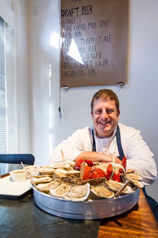 Executive Chef Adi Mandel of Bristol Oyster Bar
