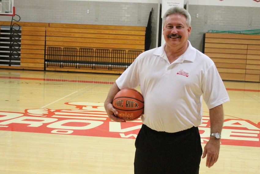 Russ Ferri began his first season as head coach of the East Providence High School girls' basketball team earlier this week.